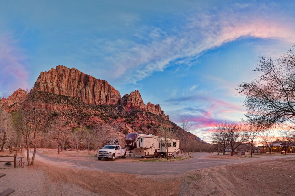 how to live in an rv on your own land