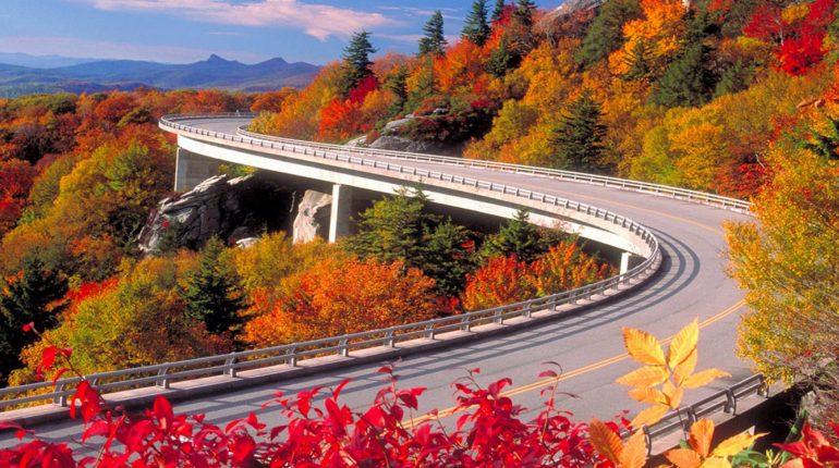 Drive the Blue Ridge Parkway