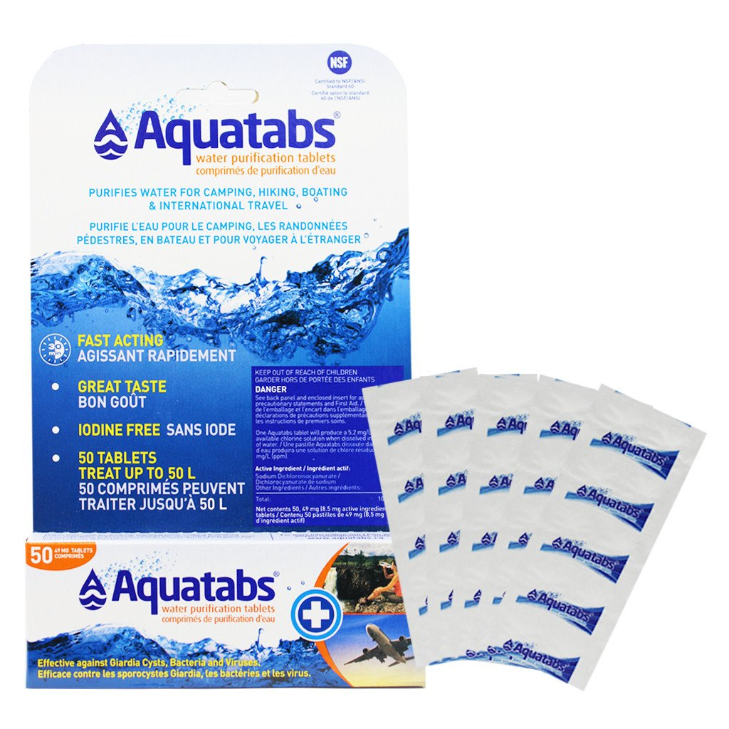 Aquatab Purification Tablets