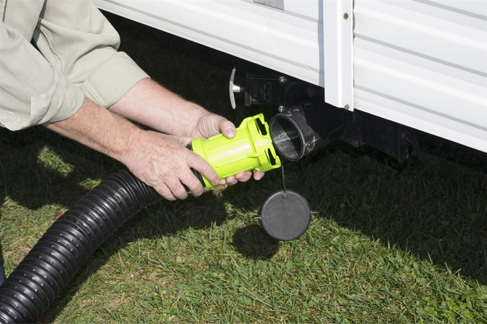 Get the adapter into the RV