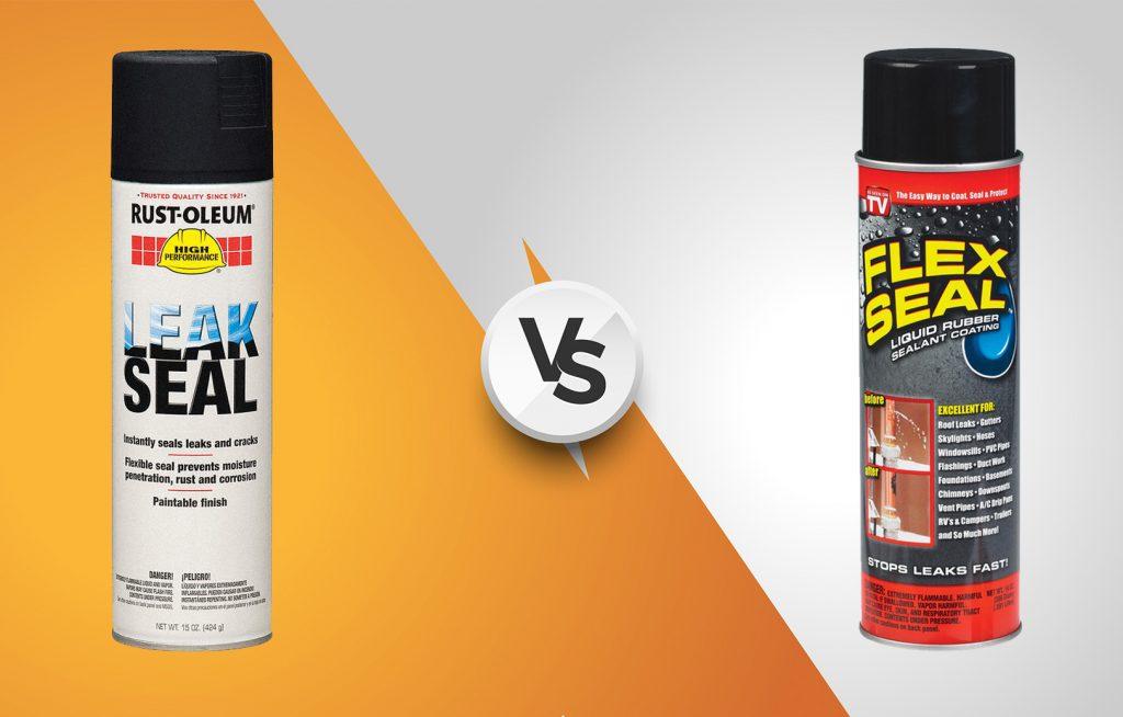 Rust Oleum Leak Seal vs  Flex Seal: Which one is better?