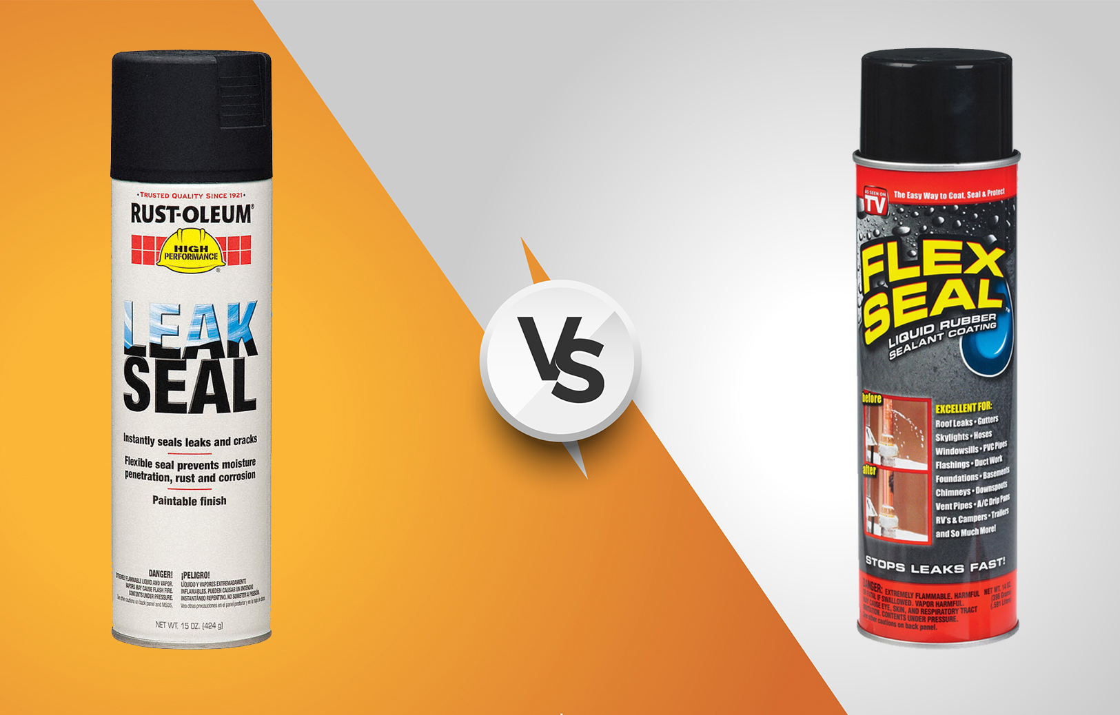 rust oleum leak seal vs flex seal which one is better outdoor fact. Black Bedroom Furniture Sets. Home Design Ideas