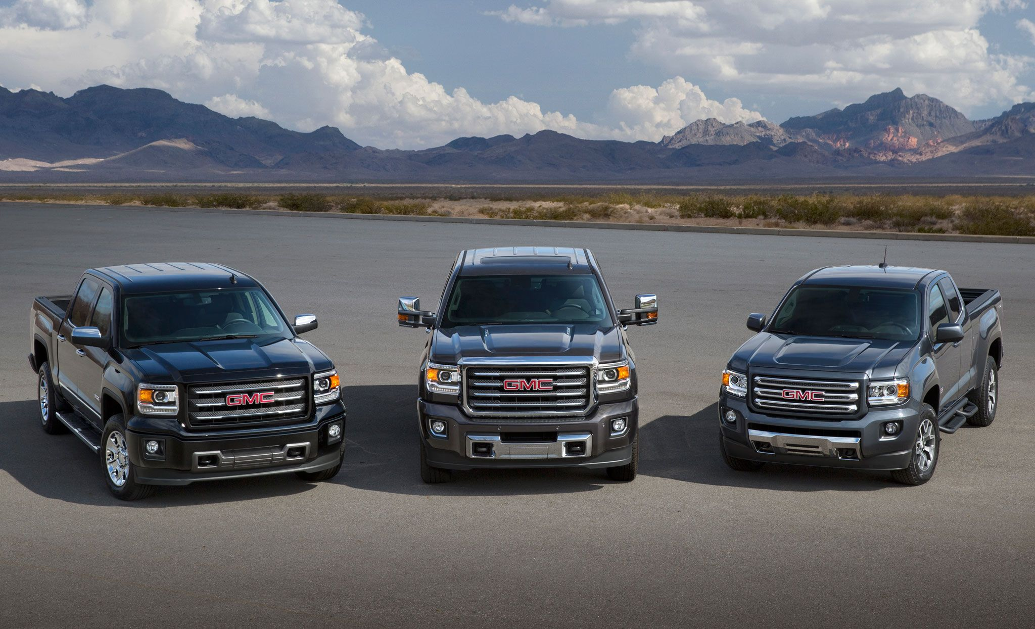 2015 Gmc Sierra hd all terrain with Sierra and Canyon