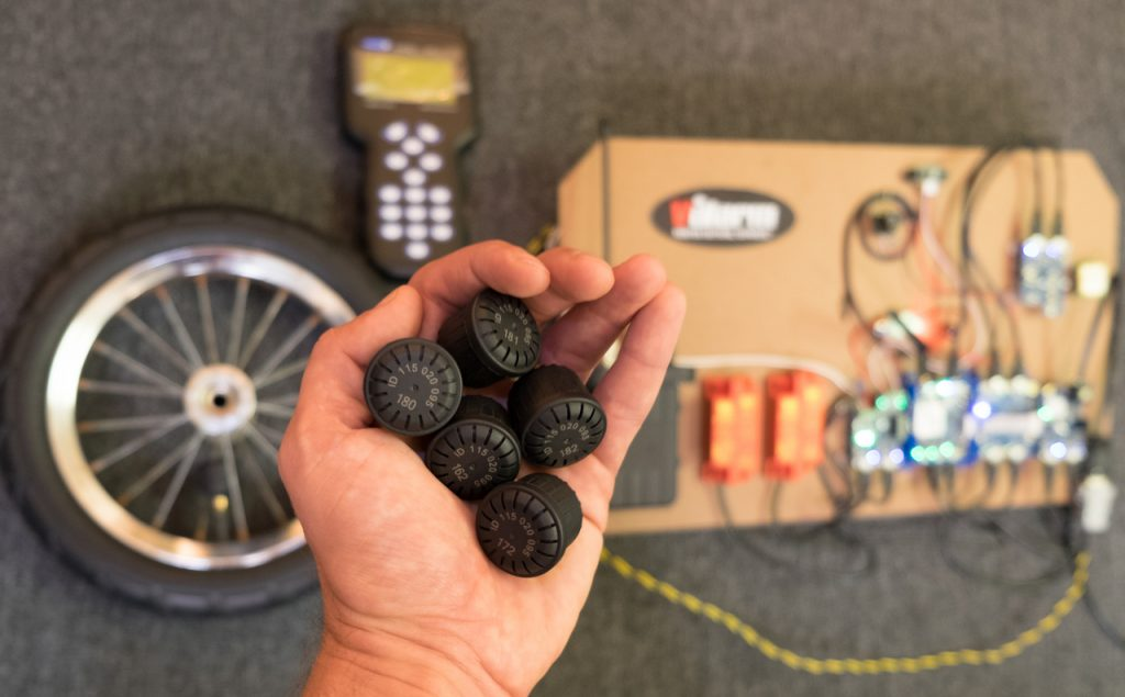 tire pressure monitoring system for travel trailers
