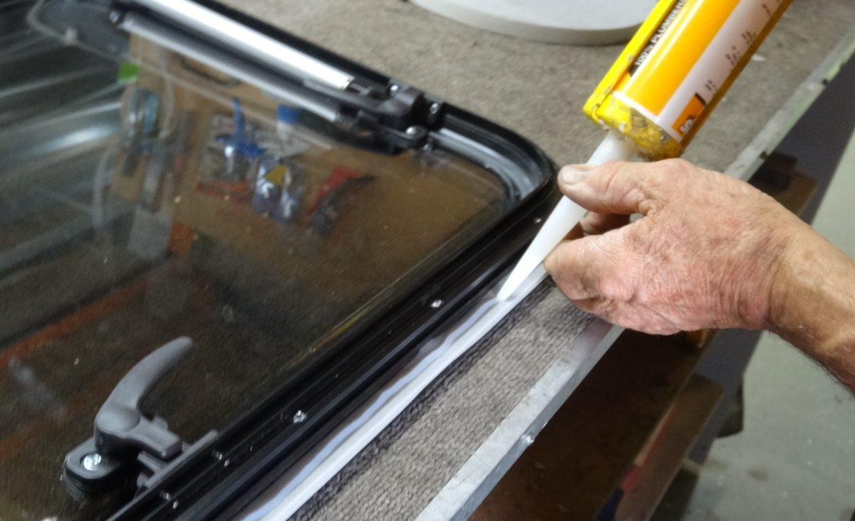 Sealing the windows