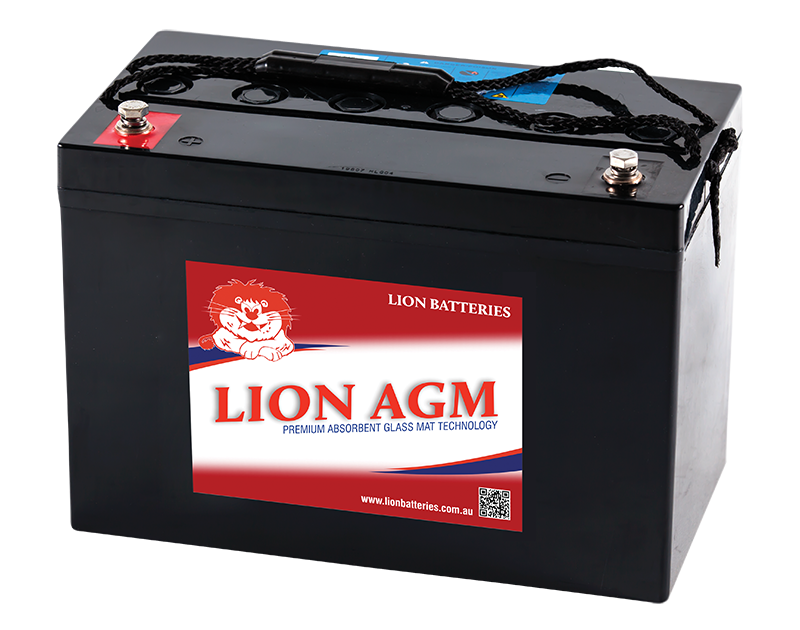 Deep cycle AGM battery.