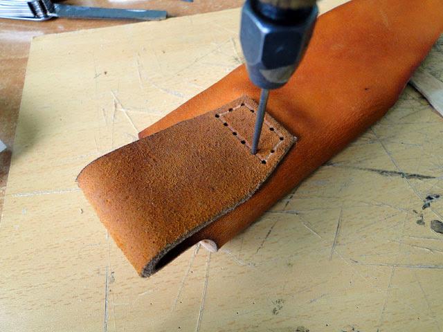 stitch the belt loop