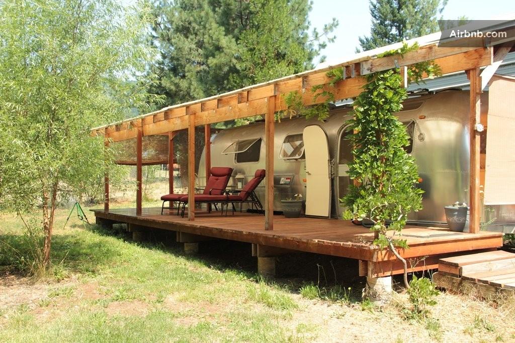 homemade rv shelters