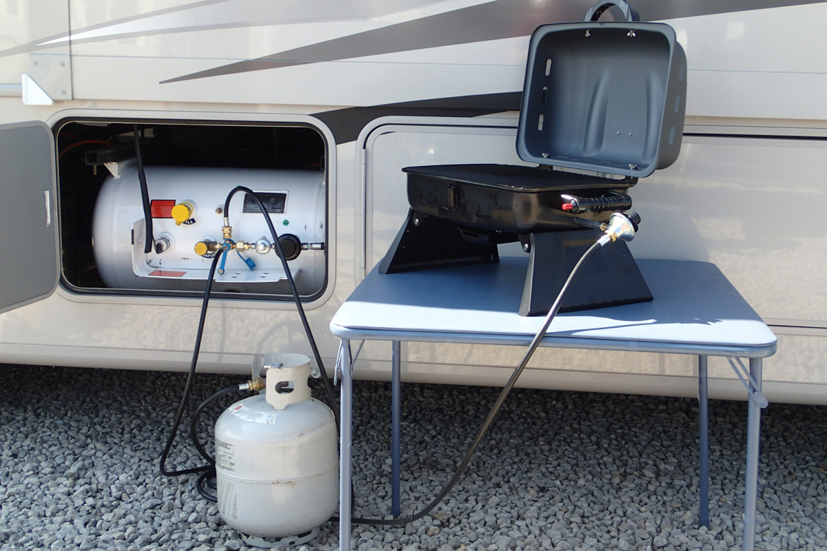 How to Empty a Propane Tank