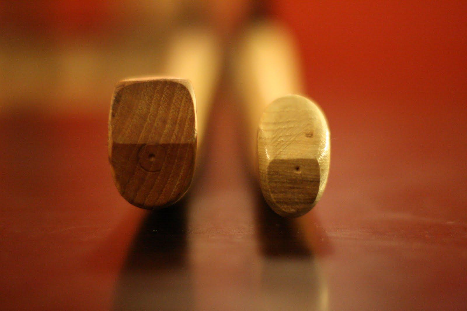 wooden hatchet handle