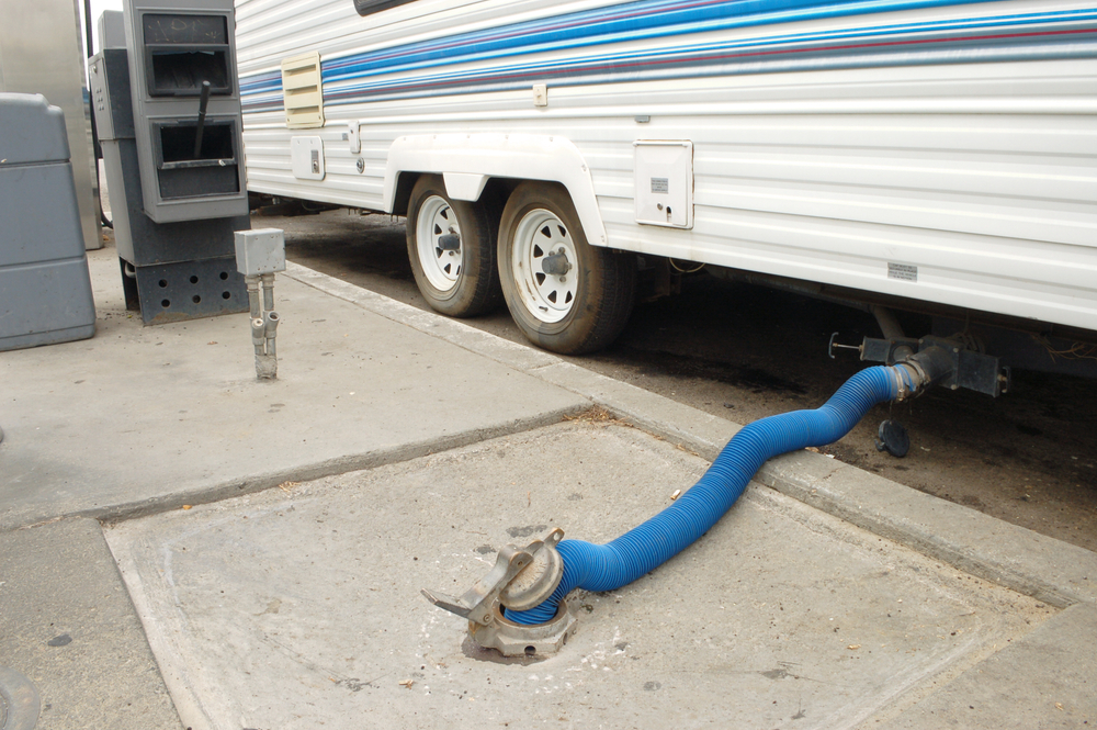 travel trailer sewer hose