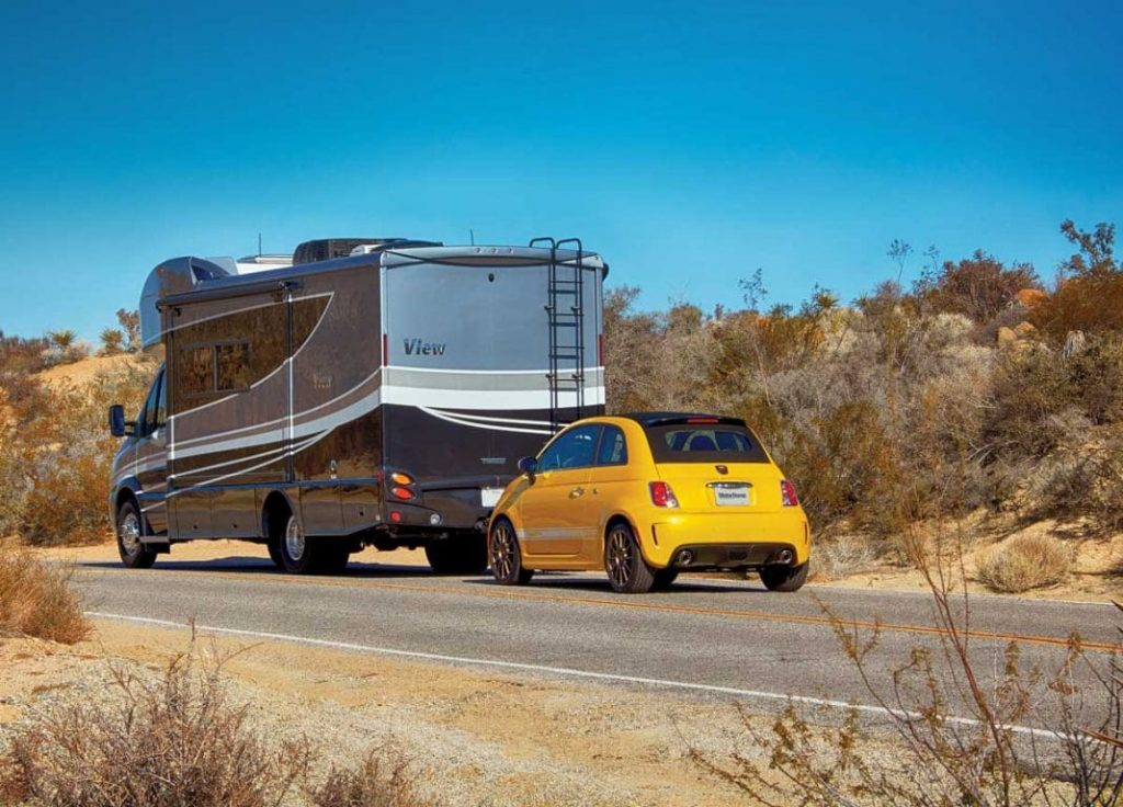 cars that can be flat towed behind rv