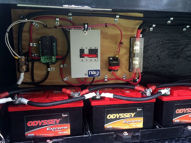 RV 12 Volt System Problem