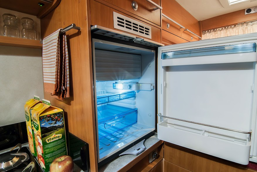 RV refrigerator not cooling but freezer is