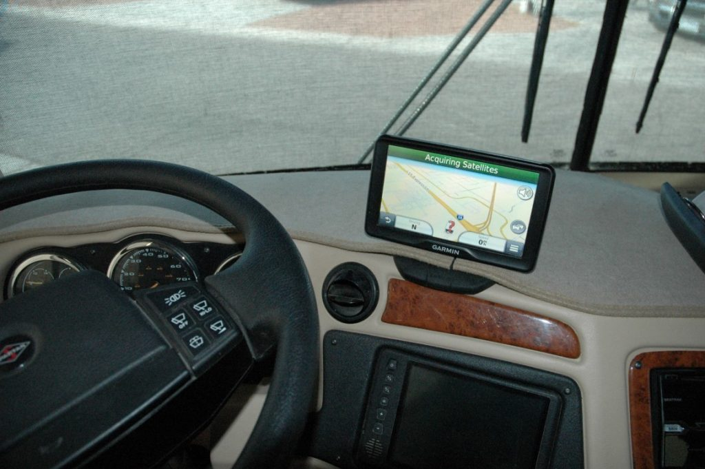 GPS navigation for RV
