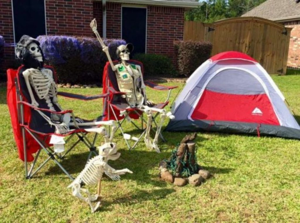 Creative Halloween display