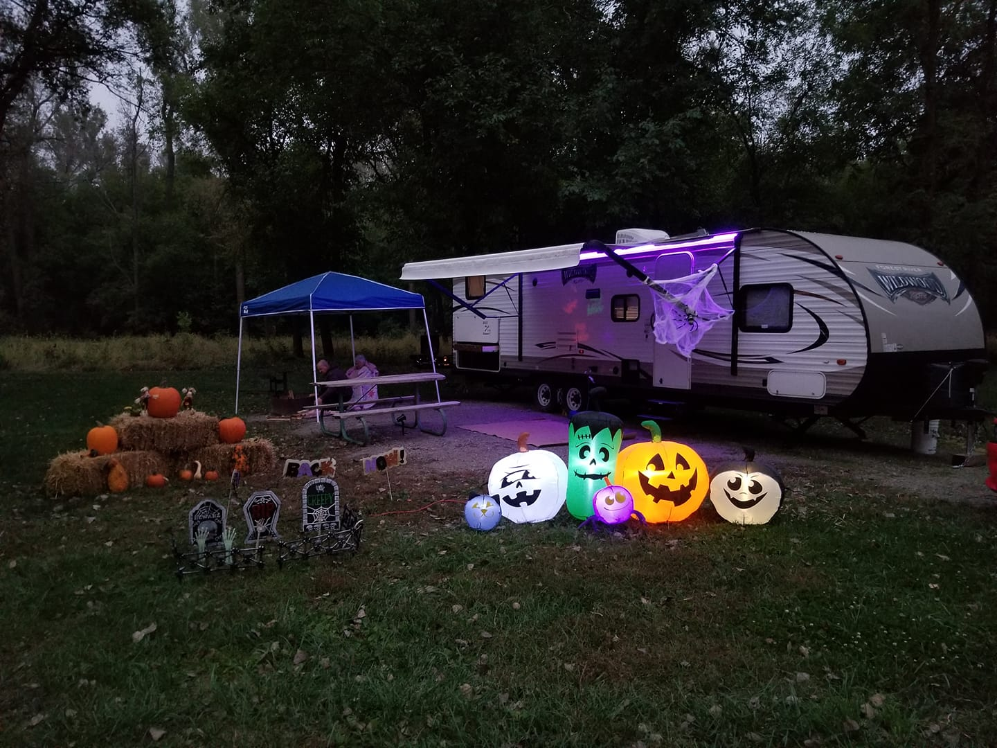 Halloween camping ideas
