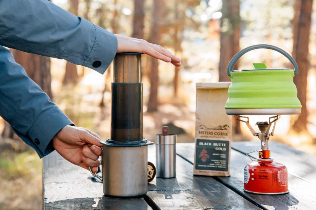 aeropress camping coffee maker
