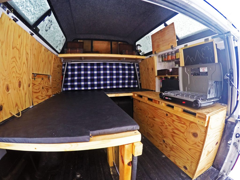 build your own truck camper