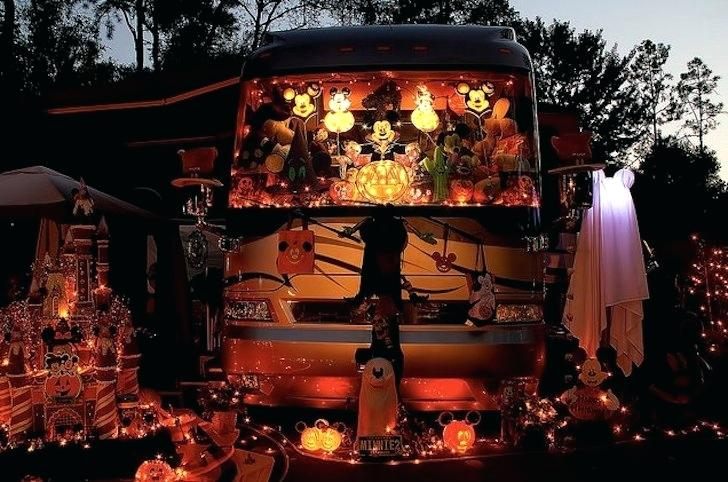 campground decor for halloween