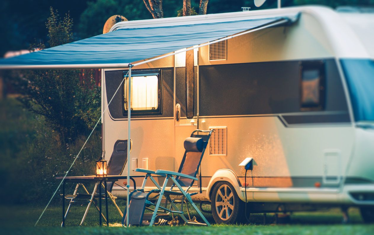 electric RV awning conversion