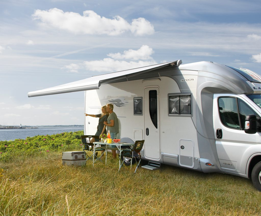 how to convert from manual to electric awning