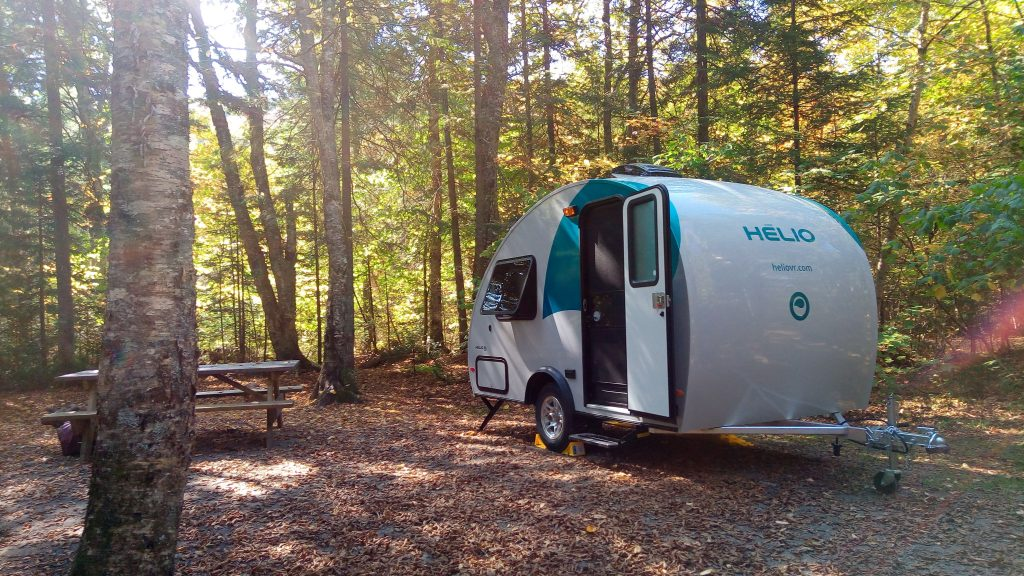 Top 5 Small Camping Trailers With Bathrooms When Nature