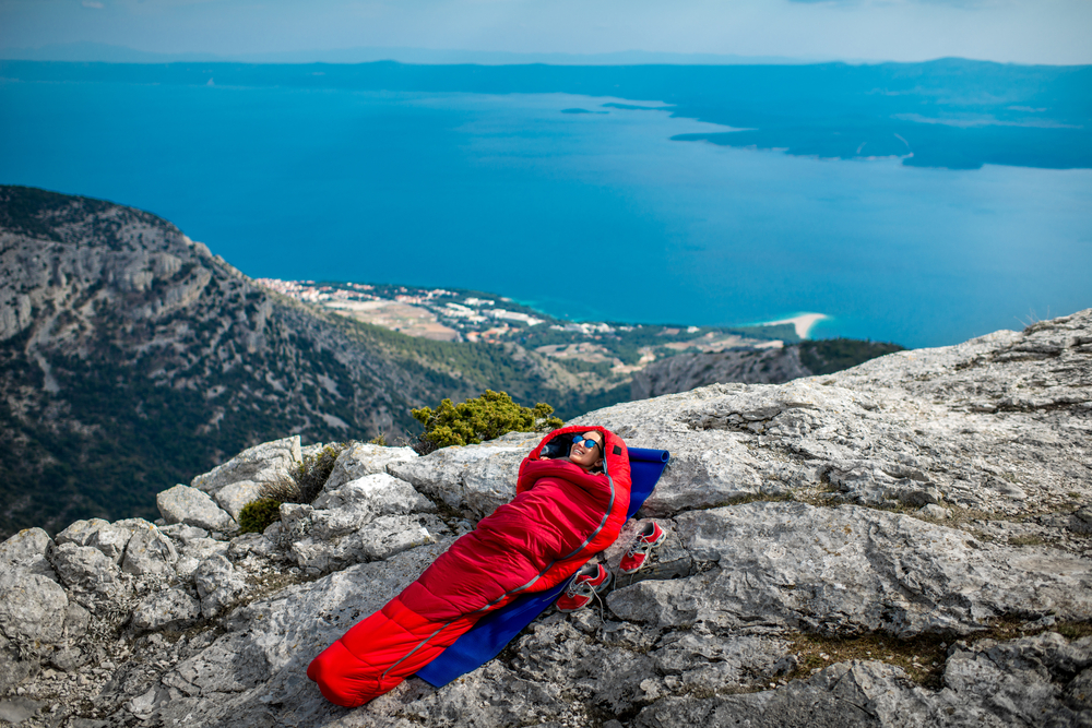 sleeping bag for backpacking