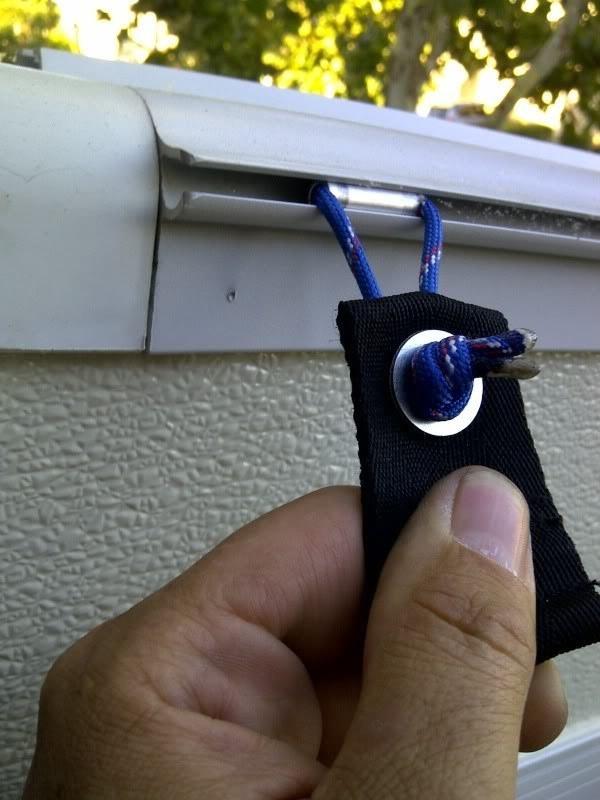 rv hacks awning track hanger