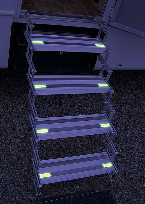 rv hacks glow in the dark steps