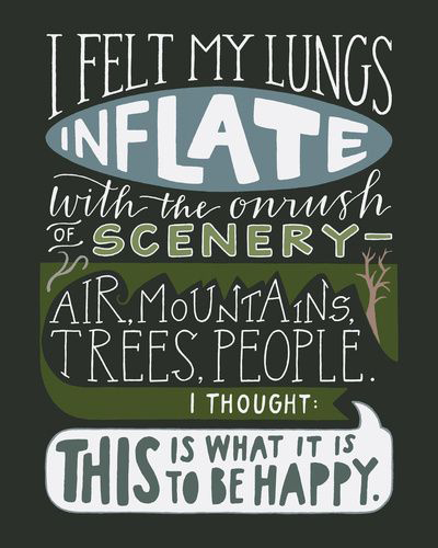 best mountain and camping quotes