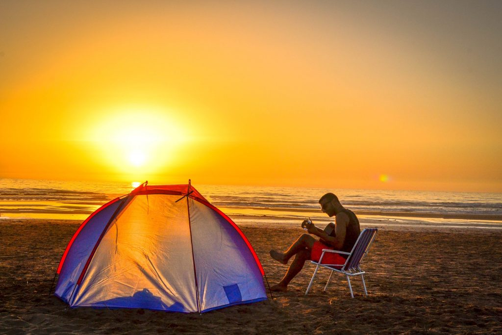 camping benefits for health