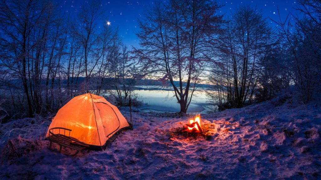 Camping is good for pủ health!