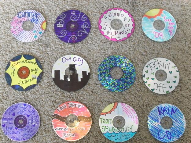 hacks for roadtrip cds