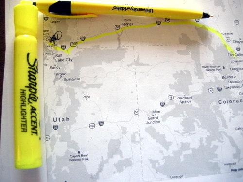 hacks for roadtrip map marker