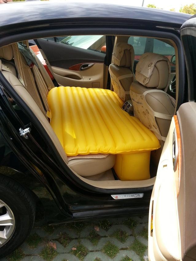 road trip hacks bed