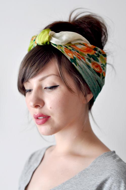 road trip hacks diy headscarf