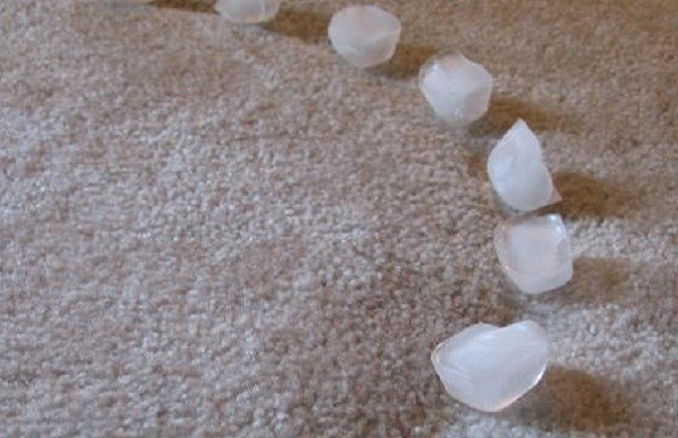 cleaning hacks carpet indents