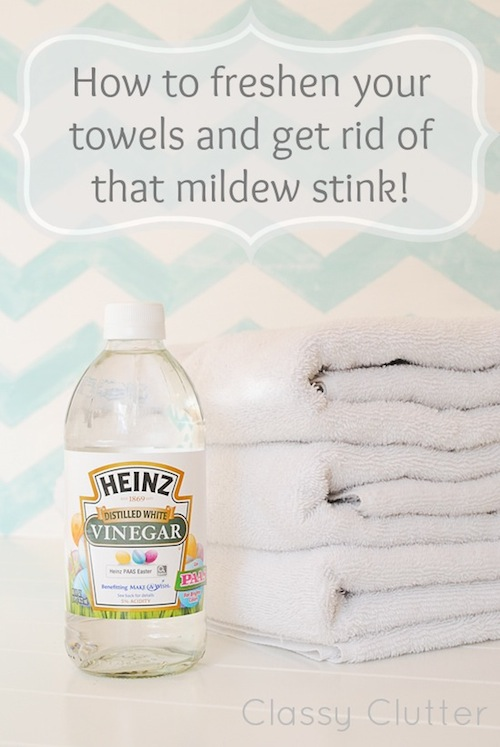 cleaning hacks towels
