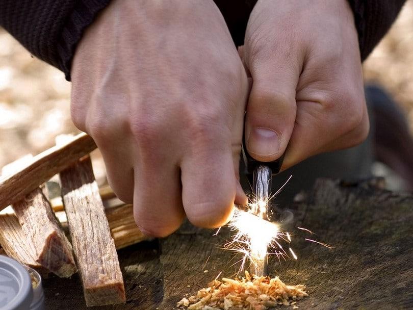 flint campfire fire starter