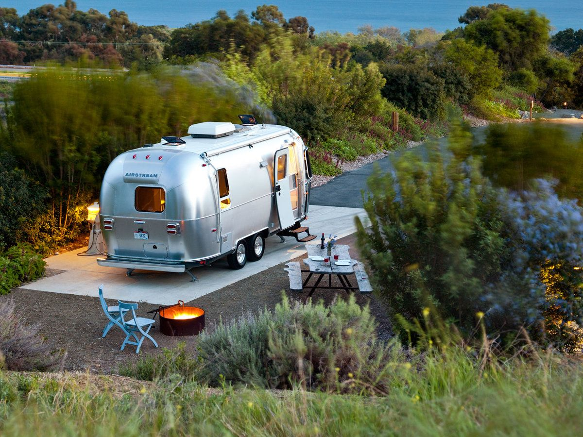 living in an RV full time in a park