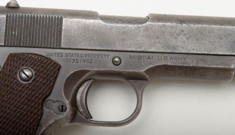 colt 1911 serial number