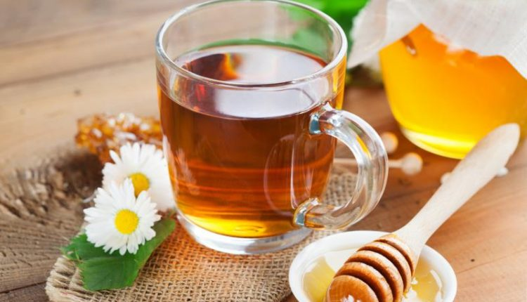 honey and tea for anxiety