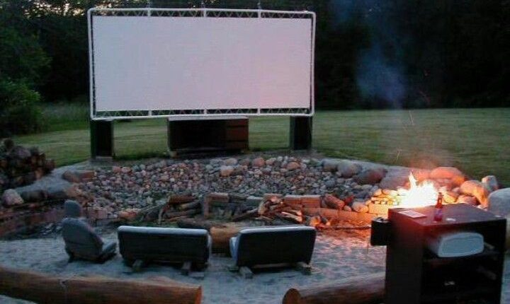 pvc outdoor movies creen