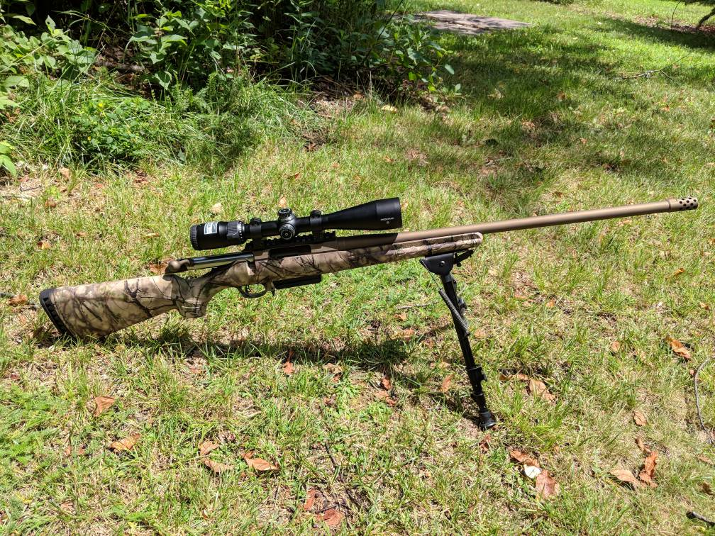 Thompson Center Compass Vs. Ruger American