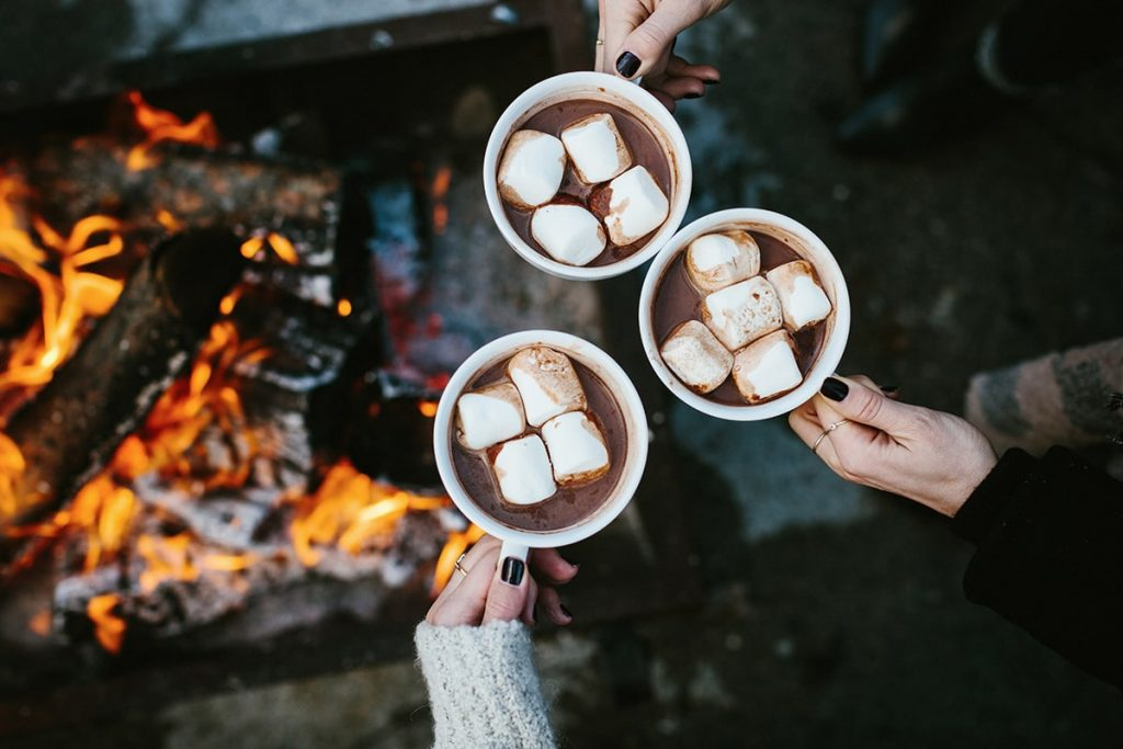hot chocolate campfire