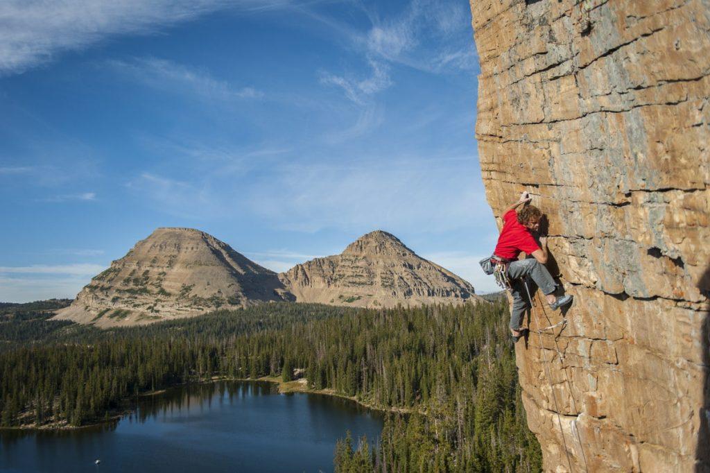 sport vs. trad climbing