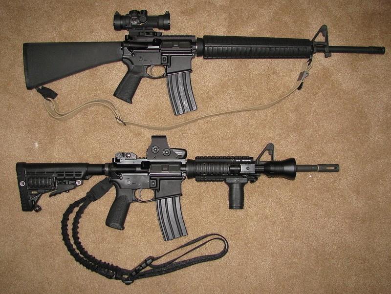 rifles vs carbines