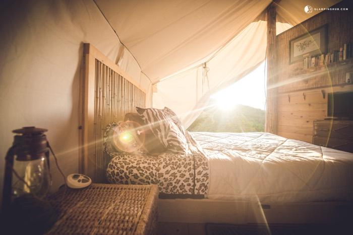 safari tent glamping california