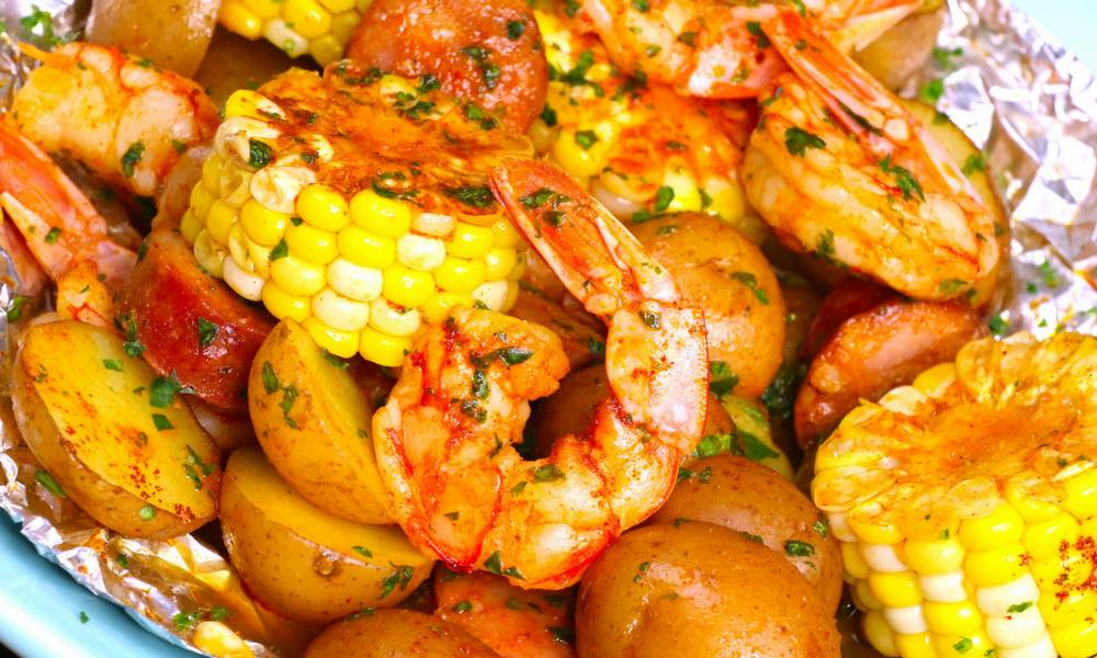 shrimp boil in foil